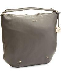 Furla Alissa Leather Hobo Bag - Lyst