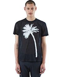 CALVIN KLEIN 205W39NYC - Men's Lonford Palm Print T-shirt In Black - Lyst