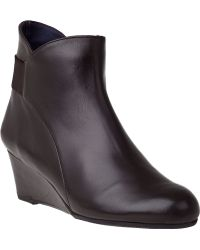 Vaneli For Jildor Lana Ankle Boot T Moro Leather - Lyst