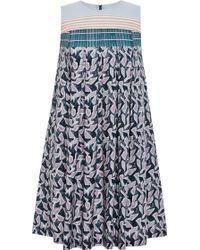 Suno Marker Batik Stripes Dress - Lyst