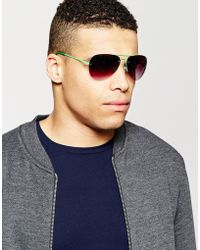 Trip - Aviator Sunglasses - Lyst