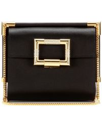 Roger Vivier Miss Viv Mini Evening Satin Shoulder Bag - Lyst