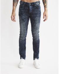 Only & Sons | Mens 5-pocket Slim Jeans Blue | Lyst