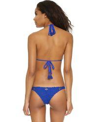 DEL MAR - Cara Adda Bikini Top - Lyst