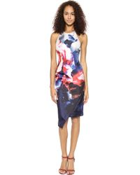 Nicholas Thermo Floral Backless Dress  Thermo Floral - Lyst