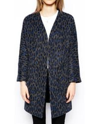 Helene Berman Edge To Edge Coat - Lyst