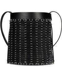 Paco Rabanne Medium Leather Bag - Lyst
