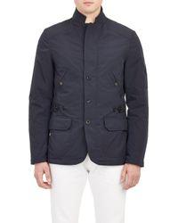 Ralph Lauren Black Label Tech-Canvas Sportcoat - Lyst