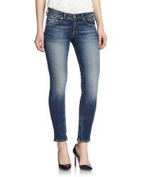 Rag & Bone/JEAN Skinny Ankle Jeans - Lyst