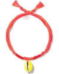 Aurelie Bidermann Shell Bracelet - Lyst