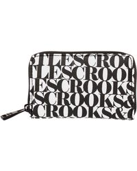 Crooks and Castles - The Zip Wallet - Lyst