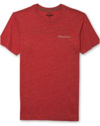 Volcom Euro Styling Heather Tshirt - Lyst