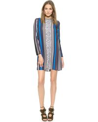 Clover Canyon Library Stripe Dress  Multi - Lyst