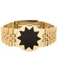 House Of Harlow Gold Sunburst Watch - Lyst