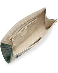 Nancy Gonzalez - Laser-cut Taj Mahal Crocodile Clutch Bag - Lyst
