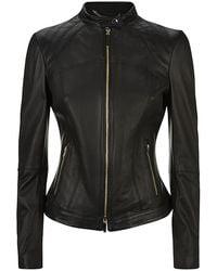 Boss Black Biker Jacket - Lyst