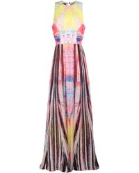 Elie Saab Long Dress - Lyst