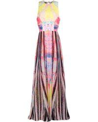 Elie Saab Long Dress - Lyst