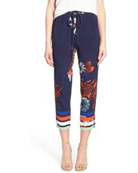 Plenty by Tracy Reese - Graphic Jogger Pants - Lyst