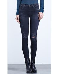 Citizens Of Humanity Rocket Highrise Skinny Jeans in Porter - Lyst