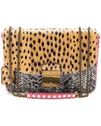 Marc Jacobs Mini Polly Printed Snakeskin Shoulder Bag - Lyst