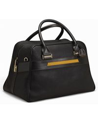 Acqua Di Parma Tournã©E Business Leather Travel Bag - Lyst