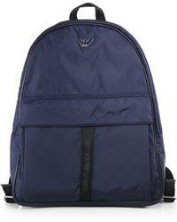 Emporio Armani Nylon Backpack - Lyst