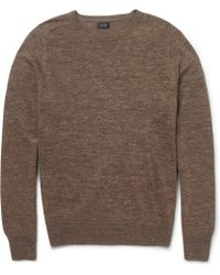 J.Crew Lightweight Marl Sweater - Lyst