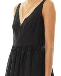 Max Mara Studio Black Galilea Dress - Lyst