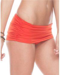 A.che - Vermillion Monroe Swimskirt - Lyst