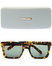 Karen Walker Praise Keeper Tortoiseshell Sunglasses - Lyst