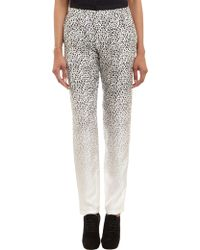 Band Of Outsiders Leopardprint Pants - Lyst