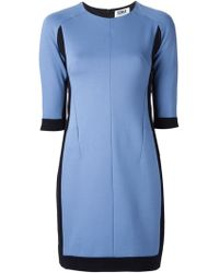 Sonia By Sonia Rykiel Colour Block Dress - Lyst