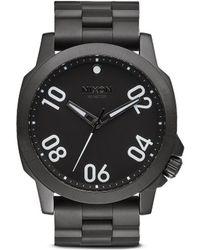 Nixon 'Ranger 45' Watch black - Lyst
