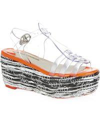 Sophia Webster Suki Flatform Sandal - Lyst