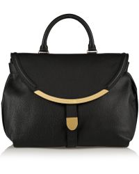 See By Chloé Lizzie Large Textured-leather Shoulder Bag - Lyst