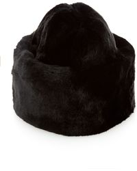 Masterpeace | Lucy Cat Rabbit-fur Hat | Lyst