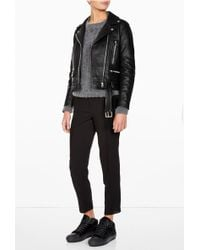 Acne Studios Black Pony Cleo High Top - Lyst