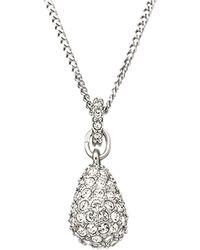 Swarovski Heloise Crystal Pendant Necklace - Lyst