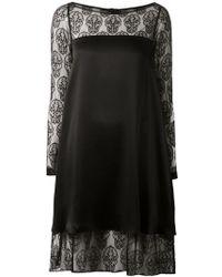 Thomas Wylde Lace Panel Dress - Lyst