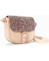 Zara Glitter Cross Body Bag - Lyst