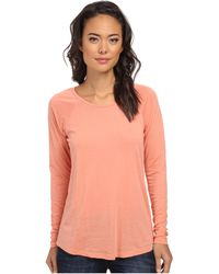 Volcom Lived in Burnout Ls Tee - Lyst