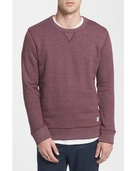 Obey 'Eastmont' French Terry Crewneck Sweatshirt - Lyst