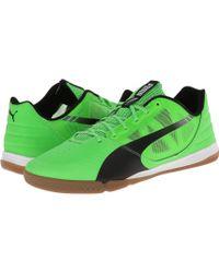 Puma Green Evospeed Sala - Lyst