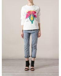 Christopher Kane Cross Section Print Sweatshirt - Lyst