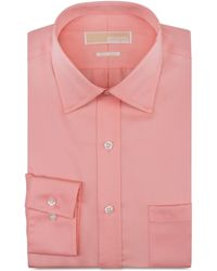 Michael Kors Michael Noniron Solid Dress Shirt - Lyst