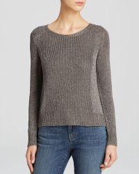 Eileen Fisher Ballet Neck Sweater - Lyst