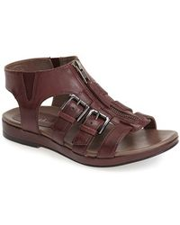Earthies® 'Versailles' Leather Sandal brown - Lyst