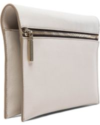 Victoria Beckham Zip Pouch Cross Body - Lyst