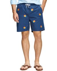 Brooks Brothers 6 Hibiscus Swim Trunks - Lyst